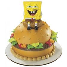 spongebob cake toppers cake topper spongebob krabby patty
