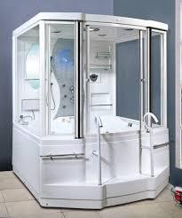designs wondrous steam shower bath combo 130 steam showers