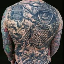 17 amazing samurai tattoos tattoo me now