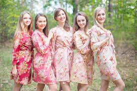 and bridesmaid robes marsala and wedding colors bridesmaids robes laughing cherries