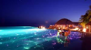 download wallpaper 1600x900 maldives tropical resort evening