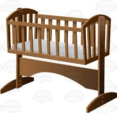 Crib With Mattress Baby Crib 6 An Fashioned Rocking Baby Crib With