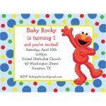 elmo birthday invites elmo invitation sesame street birthday