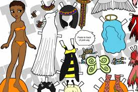 printable paper dolls the coolest free printable halloween paper dolls to keep the kids busy