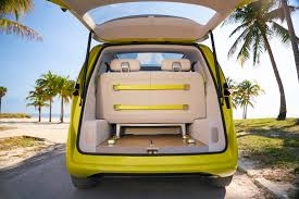new volkswagen bus yellow the vw bus is back and planned to start rolling out in 2025