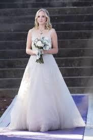 vire diaries hairstyles caroline caroline s wedding dress in the vire diaries popsugar fashion