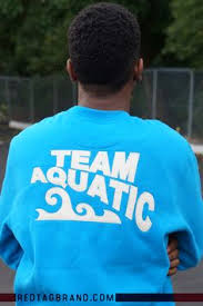 team aquatics sweatshirt aqua by red tag brand available
