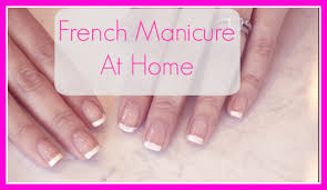 the daily connoisseur french manicure tutorial easy