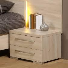 chambre chene blanchi table de chevet chene blanchi chevet scandinave tiroirs