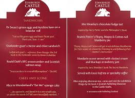 edinburgh castle scones with a dash of politics
