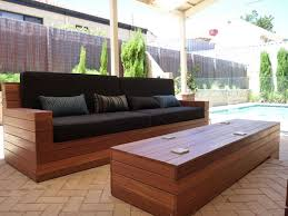Make Your Own Outdoor Wood Table by Stunning Outdoor Sofa Wood Make Your Own Wood Patio Furniture 5