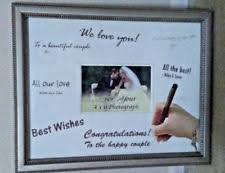 wedding signature frame ebay