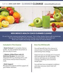 summer cleanse 2017 nutritional planning u0026 assistance