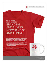 design a shirt program merchandise ohio state brand guidelines