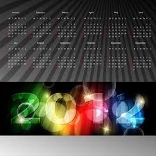 free 2012 calendar design template 2 free vector download 16 875
