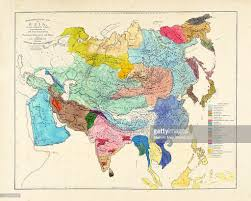 Map Of Europe Asia And Africa by Africa Asia Europe Asia 1861 Asia Ethnographical Maps Illustrative