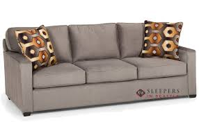 sleeper sofa seattle customize and personalize 403 queen fabric sofa by stanton queen