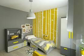 chambre enfant gris et deco chambre gris et jaune dacco murale chambre enfant idaces avec
