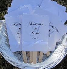 church fans personalized 146 best wedding paper images on custom address st