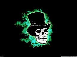 halloween skull hd desktop wallpaper widescreen high