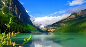 beautiful places to see lake louise alberta canada youtube