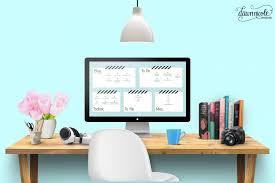 Computer Desk Wallpaper Organizational Desktop Wallpapers Designs