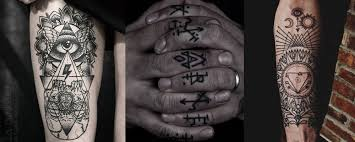occult symbols tattoos and their meaning