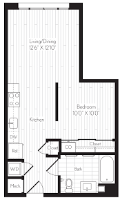 flex flats floor plan axis downtown los angeles apartment