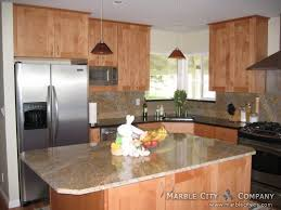 Light Kitchen Countertops Summer Light Granite Countertops Expert Installation