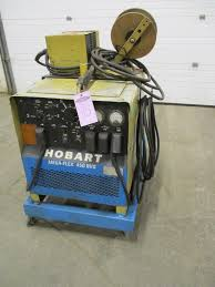 hobart mega flex mig 450 rvs mig welder with hobart 2410 welding
