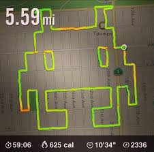 Map My Run Create Route by Runner Talks About Drawing Pictures With Her Nike App Ny Daily News