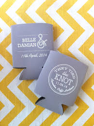 The Knot Favors by The Knot Nautical Wedding Koozies For Favors Nautical