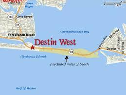 Fort Walton Beach Map Ground Level Beachside Updated 2018 Beach Vrbo