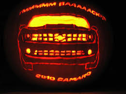 this halloween decorate your chevy car with free pumpkin stencils