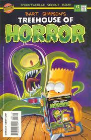 Simpsons Treehouse Of Horror 19 Bart Simpson U0027s Treehouse Of Horror 1995 Chapter 2 Page 1