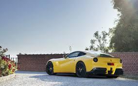 Ferrari F12 Yellow - 2013 novitec rosso ferrari f12berlinetta static 6 2560x1600
