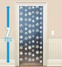 Classy Christmas Window Decorations fishing line white pom poms frozen style party decoration