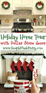 Christmas Decorations Made At Home by 25 Best Dollar Store Christmas Ideas On Pinterest Christmas