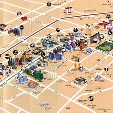 Las Vegas Strip Casino Map by Twin Peaks U2013 Josie On The Strip
