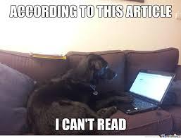 Laptop Meme - dog on laptop by scarth meme center