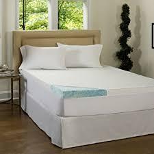 Home Design Classic Mattress Pad Amazon Com Beautyrest 3 Inch Gel Memory Foam Mattress Topper Amp