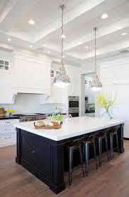 belmont black kitchen island charming white and black kitchen boasts two gorgeous belmont