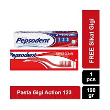 Pasta Gigi Closeup Terbaru pepsodent 123 pasta gigi herbal 120g daftar harga