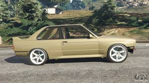 Bmw M3 1991 - bmw m3 e30 1991 drift edition v1 0 for gta 5