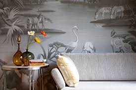 Hand Painted Wallpaper by A New Way To Get One Of A Kind Wallpaper Wsj