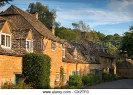 The Cotswolds Cottages by Snowshill Village The Cotswolds Gloucestershire England Uk