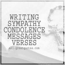 condolence cards writing sympathy condolence verses condolence card messages
