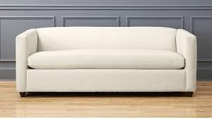 cb2 sofa bed birch sleeper sofa in custom order upholstery