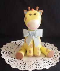 giraffe baby shower cakes giraffe cake topper jungle cake topper baby giraffe baby shower