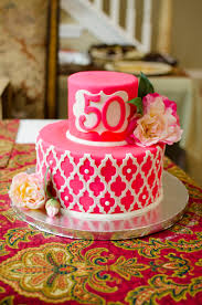 pink moroccan lattice birthday cake u name it creative services